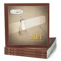 Sit illustrated - meditation Cartoon Book