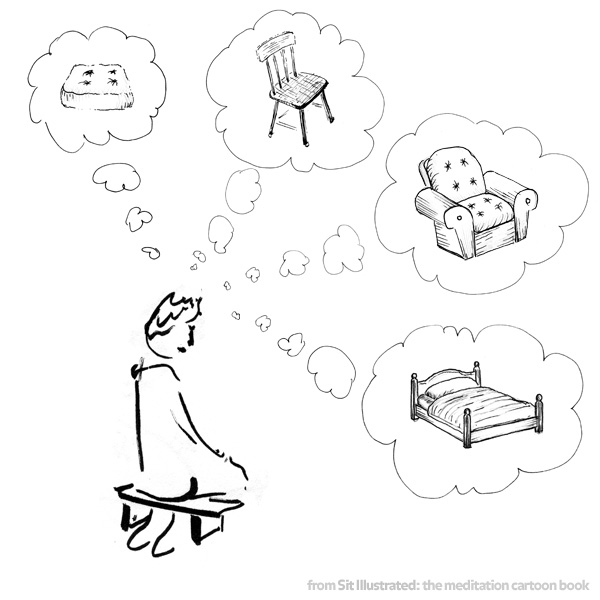 Meditation on more comfortable seating options